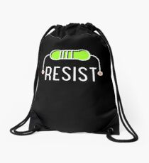 Resist Resistor Drawstring Bag