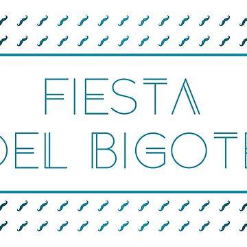 fiesta del bigote by maydaze