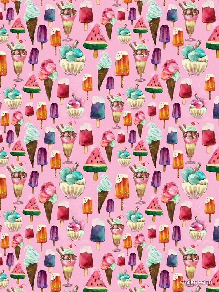 ice-cream pattern by strijkdesign