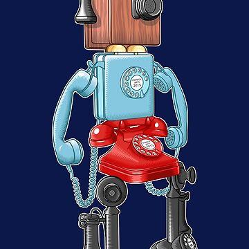 Smartphone Bot 8000 by zomboy