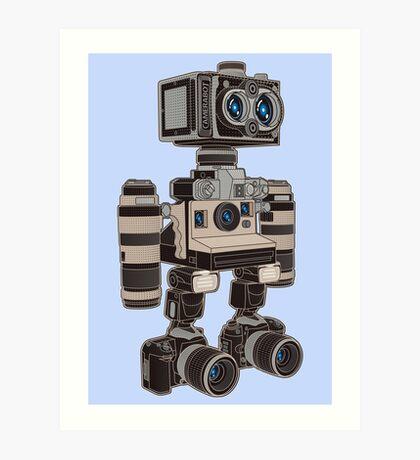 Camera Bot 6000 Art Print