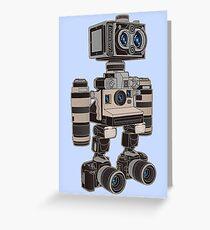 Camera Bot 6000 Greeting Card