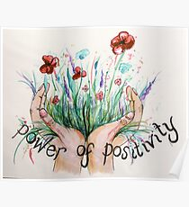 Power of positivity Poster