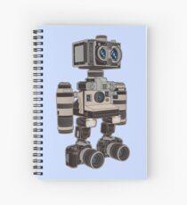 Camera Bot 6000 Spiral Notebook