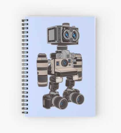 Camera Bot 6000 Spiral Notebook