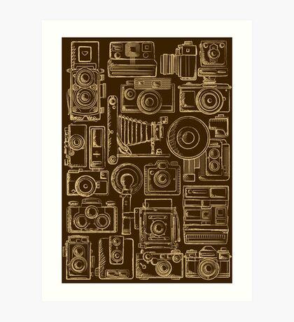 Paparazzi Beige Art Print
