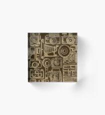 Paparazzi Beige Acrylic Block