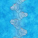 « Hippoline - Sky Blue » par Hippopottermiss