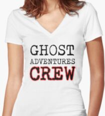 Ghost Adventures Crew Women's Fitted V-Neck T-Shirt
