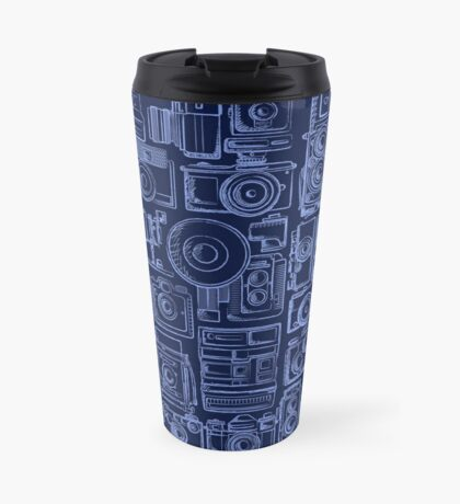 Paparazzi Blue Travel Mug