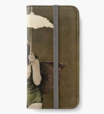 Victorian Circus Performer iPhone Wallet/Case/Skin