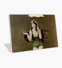Victorian Circus Performer Laptop Skin