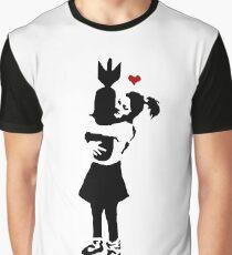 Banksy Bomb Hugger Graphic T-Shirt