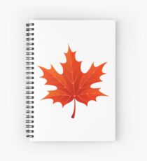 Maple Leaf Spiral Notebook