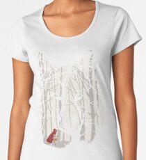 Little Red Woods Run Women's Premium T-Shirt