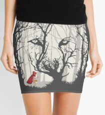 Little Red Woods Run Mini Skirt