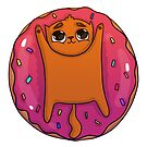 Doughnut Kitty by Cats In Food