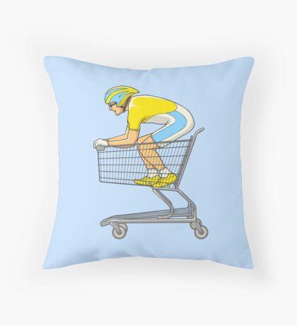 Retail Racer Throw Pillow