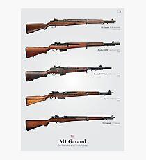 Lámina fotográfica M1 Garand Derivados
