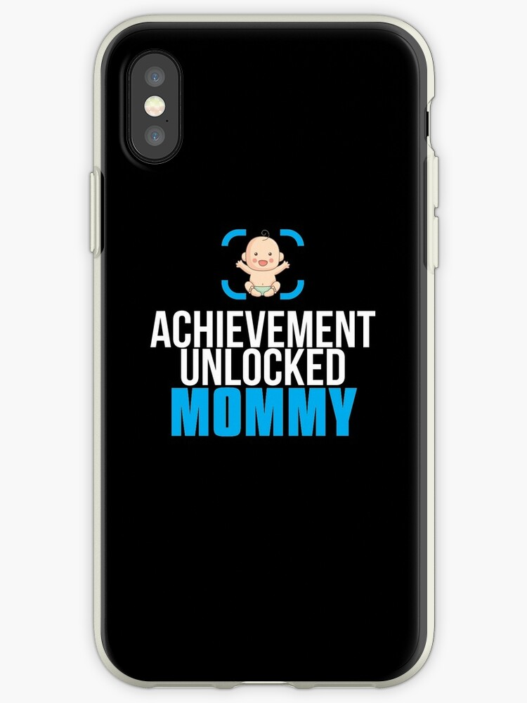 New Mom Gift Achievement Unlocked Mommy Present For First Time Mother By Modernmerch