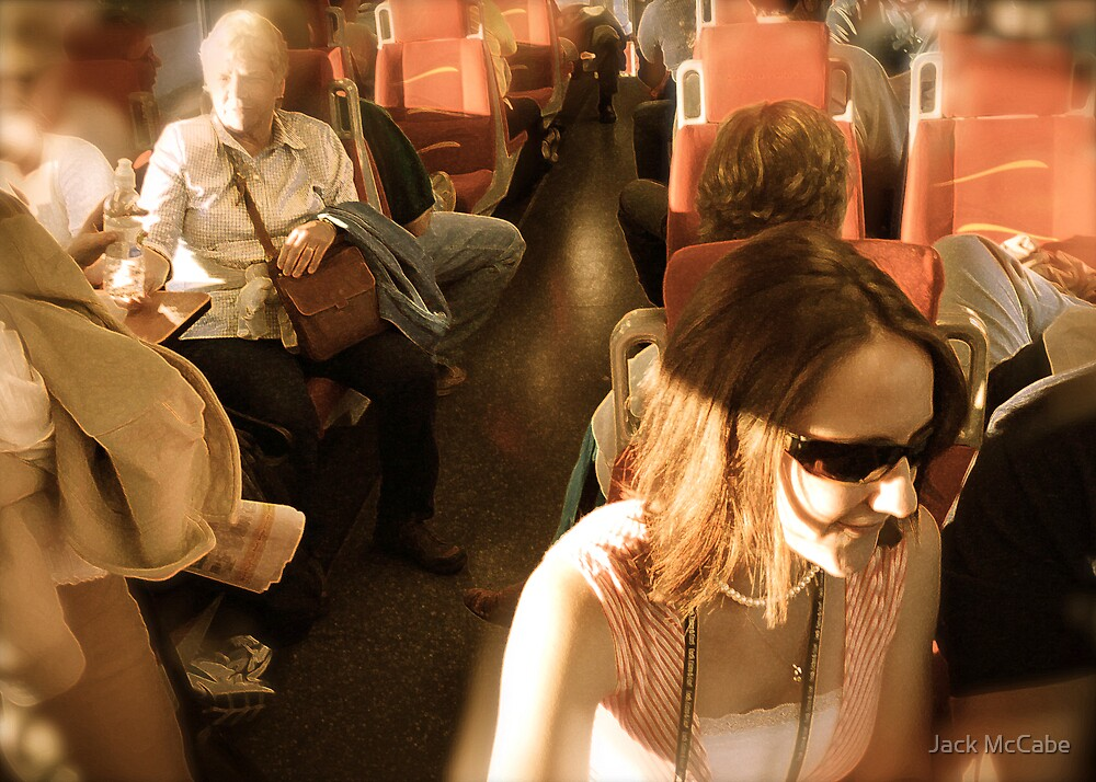 All Aboard The Railrunner! - Albuquerque in April Series 2009 by Jack McCabe