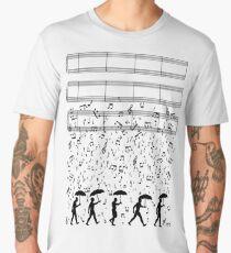 Singing in the Raaaain Men's Premium T-Shirt