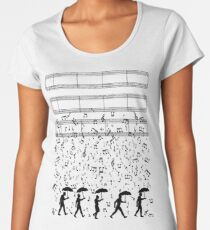 Singing in the Raaaain Women's Premium T-Shirt