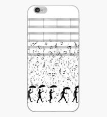 Singing in the Raaaain iPhone Case