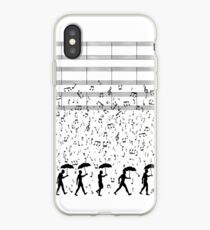 Singing in the Raaaain iPhone Case