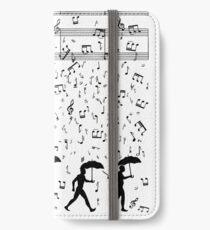 Singing in the Raaaain iPhone Wallet/Case/Skin