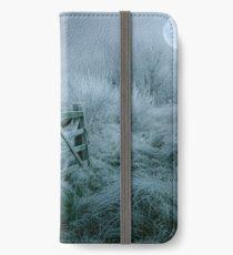 Frosty moonlit night iPhone Wallet/Case/Skin