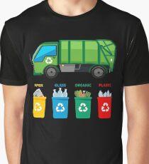 Garbage Truck t shirt - Garbage Day Trucks Waste Management Graphic T-Shirt