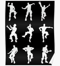 Fortnite Dances Poster