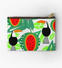 Toucans and watermelons Studio Pouch