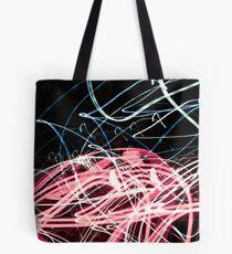 Light trail art  Tote Bag