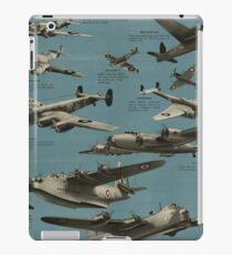 Aircraft of the R.A.F. [1] iPad Case/Skin
