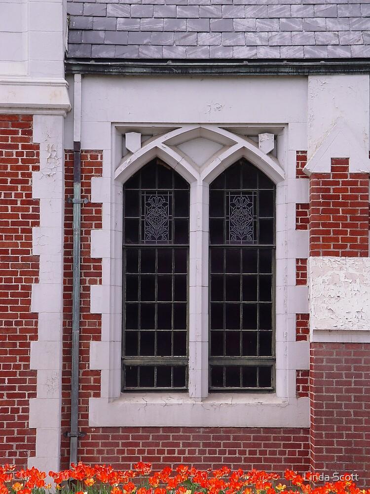 Arched Window by Linda Scott