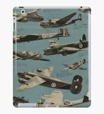 Aircraft of the R.A.F. [2] iPad Case/Skin