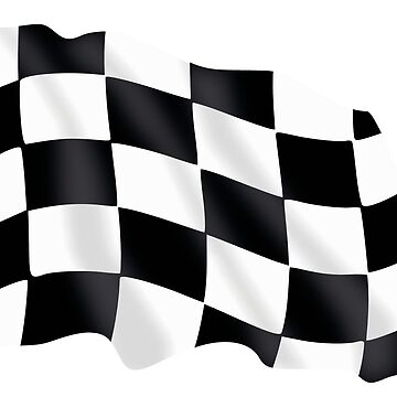 Kart Flag by Zzart