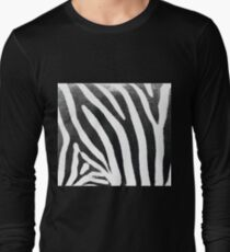 Zebra Print 1 Long Sleeve T-Shirt
