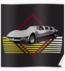 Sports Car Limo - Its Always Sunny Poster