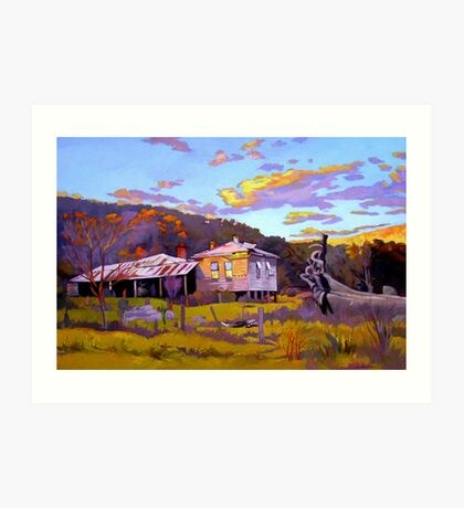 Deserted House at Payne's Crossing Art Print