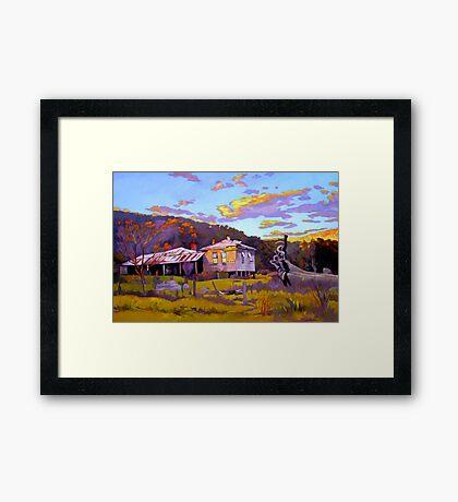 Deserted House at Payne's Crossing Framed Print