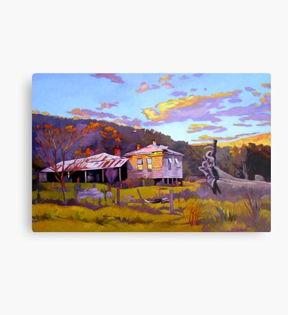 Deserted House at Payne's Crossing Metal Print
