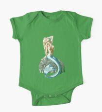 Mermaid on the Rocks One Piece - Short Sleeve