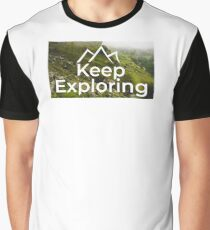 Keep Exploring Graphic T-Shirt