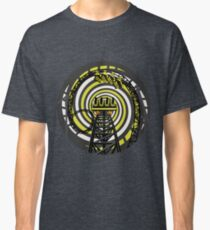 SMILE FOREVER Shirt Design - Black and Yellow Gerstlauer Infinity Coaster Classic T-Shirt