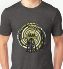 SMILE FOREVER Shirt Design - Black and Yellow Gerstlauer Infinity Coaster Unisex T-Shirt