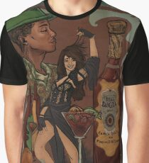 Camiseta gráfica Vino de Sangria - Camila C abello Pharrell