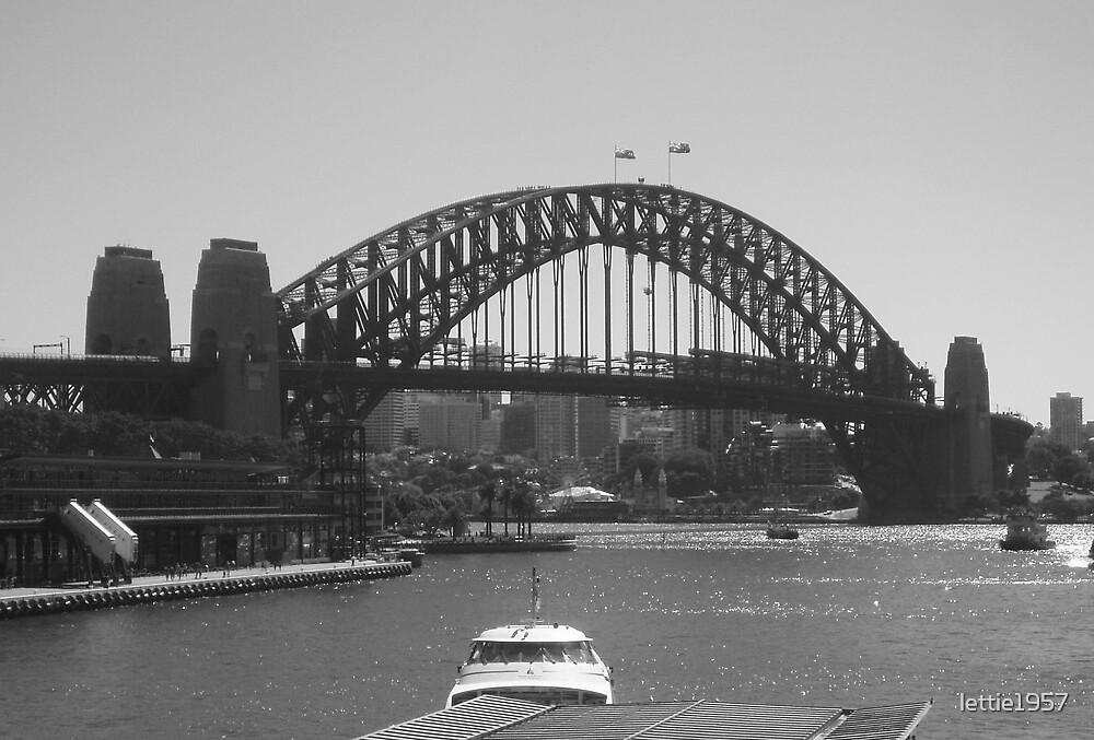 Sydney Harbour Bridge by lettie1957